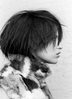 Voluminous Short Hairstyle