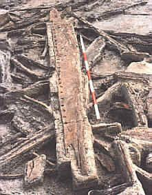 Fragment of dugout