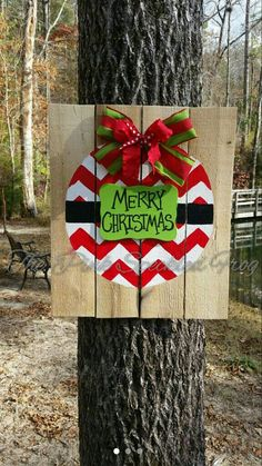 Hey, I found this really awesome Etsy listing at https://www.etsy.com/listing/200289663/christmas-door-hanger