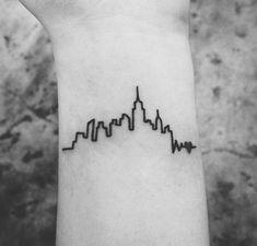 new york skyline tattoo   Tumblr
