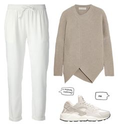 """""""Dirty paws"""" by carocuixiao ❤ liked on Polyvore featuring NIKE, STELLA McCARTNEY and P.A.R.O.S.H."""
