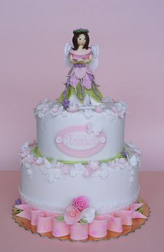 The Butterfly fairy cake by bubolinkata, via Flickr