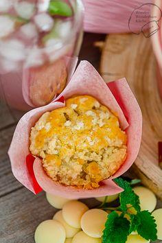 Wonder Wunderbare Küche: Rhabarbermuffins mit Streusel