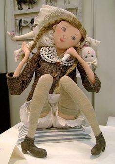 Textile dolls Tatiana Ovchinnikov. Comments: LiveInternet - Russian Service Online Diaries