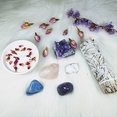 🍃🦋Calm & Relaxed Crystal Set🦋🍃 This Crystal Set has been carefully designed for the intention of removing Stress, anxiety or worry and creating a state of Calm Relaxation.