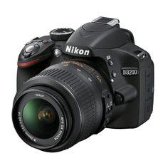 Nikon D3200 24.2MP Digital SLR Camera with 18-55mm Lens | Overstock™ Shopping - Top Rated Nikon Digital SLR