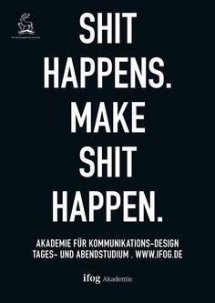 Imagekampagne ifog Akademie   Plakate