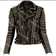 Black Leather Corset, Biker Leather, Faux Leather Jackets, Cowhide Leather, Red Suede Jacket, Studded Jacket, Boots And Leggings, Biker Style, Celebrity Outfits