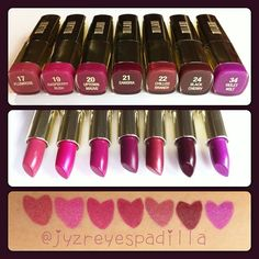 milani cosmetics color statement in plums and berries
