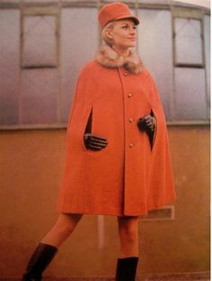 What's better than a '60's cape? Nothing, that's what, ugh! I want one so bad!