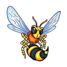 Size: x Description: Go Hornets! An excellent handout at the next hornet game, this temporary tattoo can be worn by everyone. Wasp Tattoo, Bee Tattoo, Tattoo Ink, Wutang, Girl Tattoos, Tattoos For Women, Tattoo Women, Temporary Tattoos, Small Tattoos