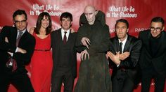 Spooky cast of What We Do in The Shadows.