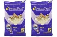 Super Absorbent DreamPad Training Pads (50-pack & 100-pack) - Free Shipping