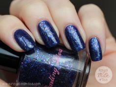 Darling Diva Polish Violet Opal