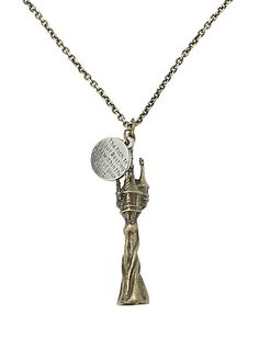 Disney Tangled Tower Necklace | Hot Topic