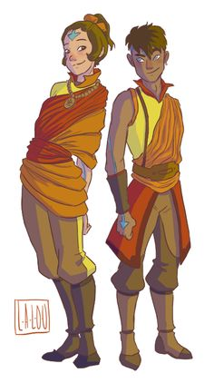 l-a-l-o-u:  Jinora's going to be the tallest because of reasons