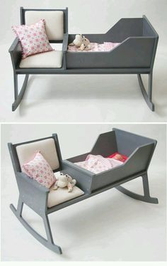From Stylish Eve: Baby rocking chair ! Baby Bedroom, Baby Room Decor, Kids Bedroom, Baby Furniture, Furniture Design, Rocking Chair, Kids And Parenting, New Baby Products, Toddler Bed