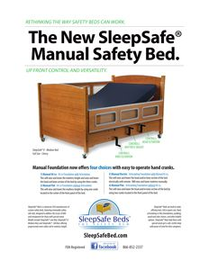 Sleepsafe Manual Safety Bed Safety Bed Bed Special Needs Kids