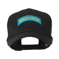 Military Related Text Embroidered Patch Cap - Special Forces