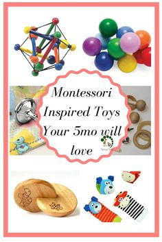 5 month old baby food Doing Montessori At Home With Your Baby ( 4 - 6 mo) Diy Montessori Toys, Diy Sensory Toys, Baby Sensory, Maria Montessori, Montessori Classroom, 5 Month Old Baby Activities, Infant Activities, 4 Month Old Toys, Infant Curriculum