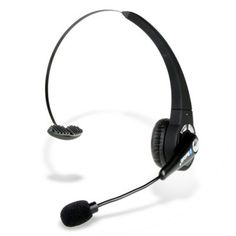 Earphones, Comfortable Bluetooth Headset with High Response Boom Mic
