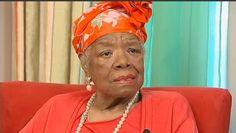 NY1 Exclusive: Maya Angelou Embraces Harlem's Rebirth - NY1