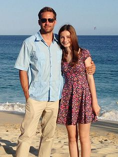 Paul Walker and his daughter Meadow Rain