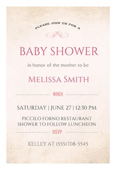 """""""Softly Sophisticated""""  printable invitation template. Customize, add text and photos. Print or download for free!"""