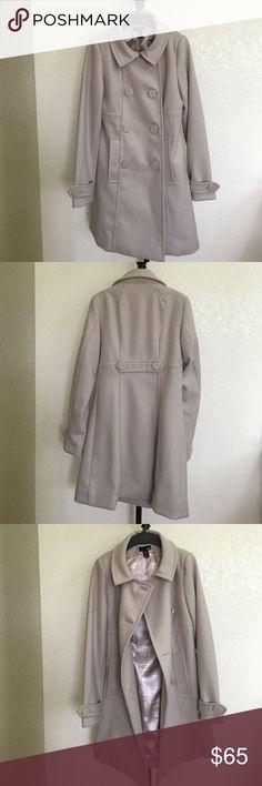 Spotted while shopping on Poshmark: New H&M Wool Coat! #poshmark #fashion #shopping #style #H&M #Jackets & Blazers