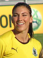 HOPE SOLO!   The inspiration for my soccer coaching!