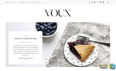 Voux Slider Blogger Template