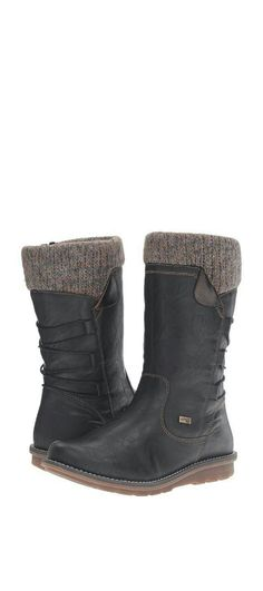 Cuuuute Rieker boots Shoe Collection, Wedges, Boots, Fashion, Crotch Boots, Moda, Fashion Styles, Shoe Boot, Fashion Illustrations