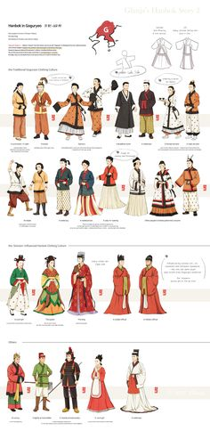 Glimja& Hanbok Story 2 about Goguryeo. & ⓒ Glimja Korean Traditional Clothes, Traditional Fashion, Traditional Dresses, Traditional Art, Korean Hanbok, Korean Dress, Korean Outfits, Korean Fashion Trends, Fashion Clothes