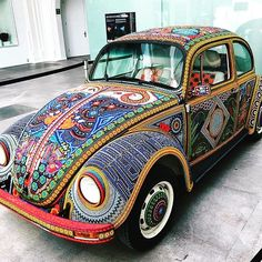 Car Inspo ? We are totally in . #inlove #colorful #inkkas