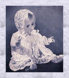 Doll Toys, Baby Dolls, Doll Patterns, Knitting Patterns, Jacket Dress, Vest, Crochet Doll Clothes, Beautiful Cat Breeds, Vintage Knitting