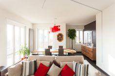 #interior #livingroom #foscarinilamp #touchofred #modern