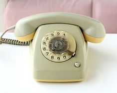Vintage rotary phone Sage green Fetap 615 german rotary phone Retro phone Old telephone Classic desk phone Dial phone Photo prop Telephone Song, Vintage Telephone, Retro Phone, Old Desks, Elderly Home, Vintage Phones, Old Phone, Diy Phone Case, Retro Home Decor