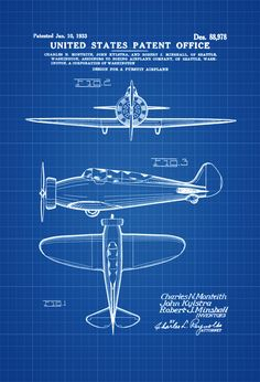 Junkers armored airplane print vintage airplane airplane 1933 boeing patent vintage aviation art airplane blueprint pilot gift airplane poster malvernweather Image collections
