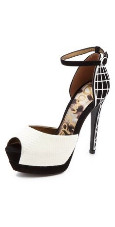Sam Edelman Paulette Peep Toe Pumps.... Love these! So pretty.