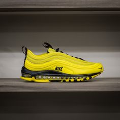 3ff23385b8f60 NIKE Air Max 97 PRM - Bright Citron Black. History of New York Powered by   Sneaker Lounge