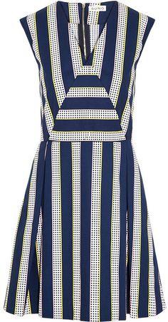 Suno Printed cotton-poplin dress on shopstyle.com