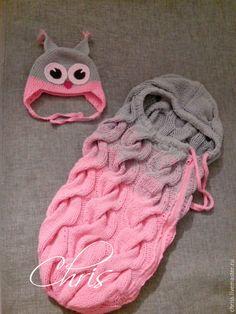 Купить Кокон для новорожденного - кокон для новорожденного, дети, разноцветный, градиент, конверт для малыша