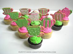 Gabi's Teaparty cupcakes | Flickr - Photo Sharing!