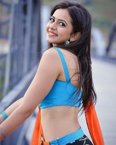 "Leading telugu heroine Rakul preet singh half sarees in ""Pandaga chesko"" movie. She is eye catchy in half saree posing in various angles. Indian Celebrities, Bollywood Celebrities, Bollywood Actress, Teen Celebrities, Celebs, Tamil Actress, Most Beautiful Indian Actress, Beautiful Actresses, Hot Actresses"