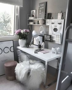 Over 25 small home office ideas for men and women (space-saving layout .,Over 25 small home office ideas for men and women (space-saving layout) - home office ideas room decoration room decor room de. Cozy Home Office, Home Office Design, Home Office Decor, Home Decor Bedroom, House Design, Office Ideas, Cozy Bedroom, Office Designs, Wall Design