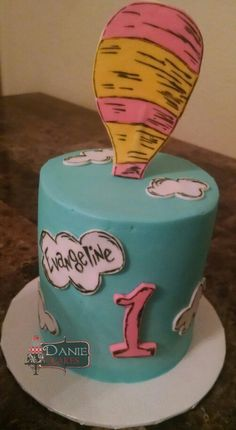Oh the places you'll go smash cake