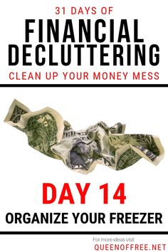 Transform your finances, breathe easier, & create space for your money. Financial Decluttering Day Clean Out Your Refrigerator Door! Saving Ideas, Money Saving Tips, Money Tips, Frugal Living Tips, Savings Plan, Managing Your Money, Money Matters, Ways To Save Money, Money Management
