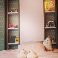 Apolline's bed #bedroom #bed #girly #pink
