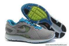 Discounts 487983-003 Nike LunarEclipse 2 Mens Cool Grey Royal Blue Reflect Silver
