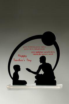 Teachers Day Celebration, Teachers Day Gifts, Acrylic Trophy, Acrylic Plaques, Teachers' Day, Bulletin Board, Awards, Design Ideas, Messages